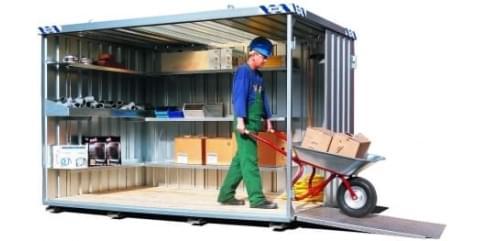 materiaalcontainer huren