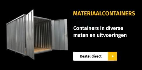 materiaalcontainers