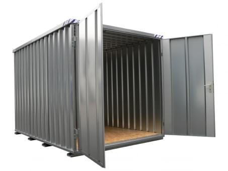 Materiaalcontainer BOS 5x2M Kopzijde Bouwpakket